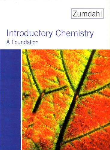 Introductory Chemistry: A Foundation