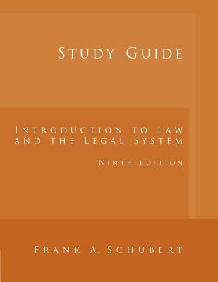 Introduction to Law and Legal System - Study Guide