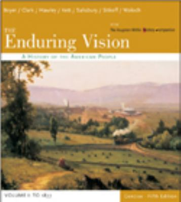Enduring Vision Volume I to 1877 Concise