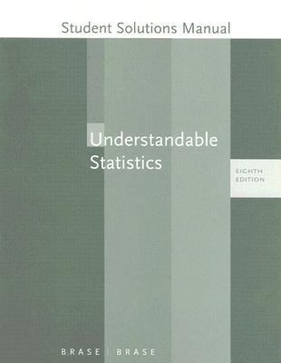 Understandable Statistics Study and Solutions Guide