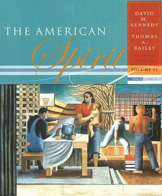 American Spirit United States History As Seen by Contemporaries; Since 1865