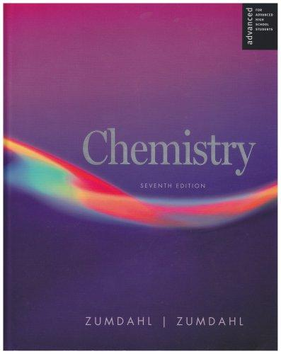 Chemistry Advanced Placement Seventh Edition