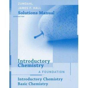 zumdahl chemistry 9th edition solutions manual