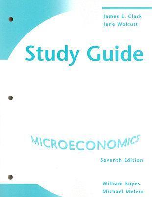 Economics Study Guide Micro 7th Edition