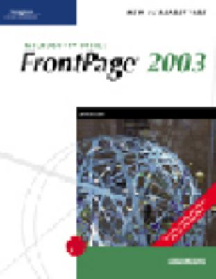 New Perspectives on Microsoft Office Frontpage 2003 Comprehensive