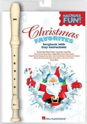 Christmas Favorites Recorder Fun! Easy Arrangements Of 8 Holiday Favorites