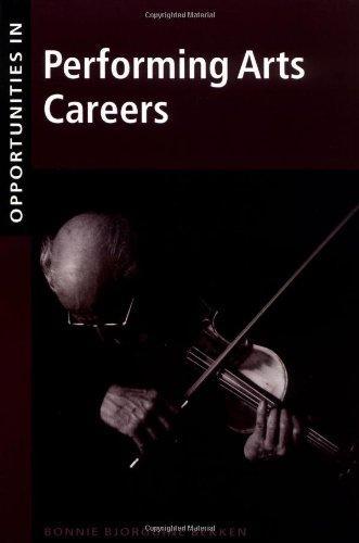 Opportunities in Performing Arts Careers
