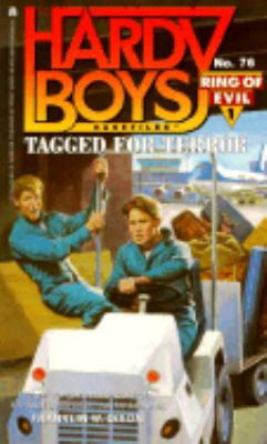 Tagged for Terror: Ring of Evil #1 (Hardy Boys Casefiles Series #76)