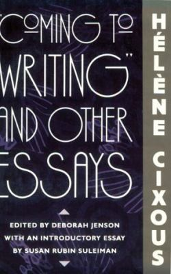cixous essay Defying classification into traditional literary categories, the work of hélène cixous takes form in multiple genres where no single text or style can convey the totality of her message her creative imagination is characterized by while cixous continues to write essays, novels.