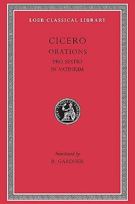 Cicero, the Speeches Pro Sestio and in Vatinium