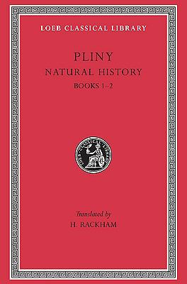 Pliny Natural History Books I-II
