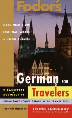 Fodor's German for Travelers-w/2 Tapes