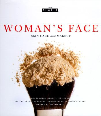 Woman's Face Skin Care and Makeup