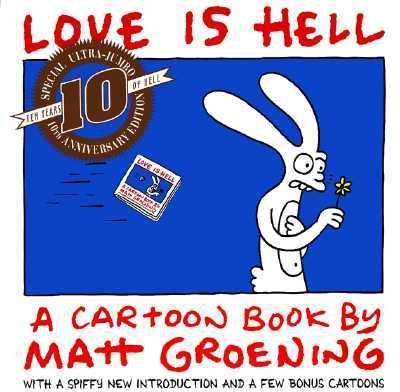 Love Is Hell A Cartoon Book