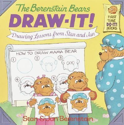The Berenstain Bears Draw-It: Drawing Lessons from Stan and Jan - Stan Berenstain - Paperback