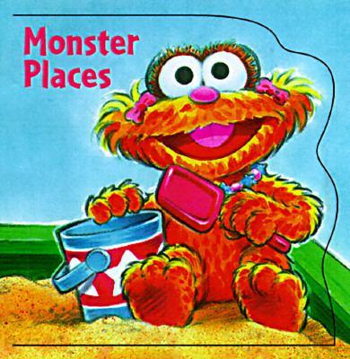 Monster Places - Tom Brannon - Board Book - BOARD