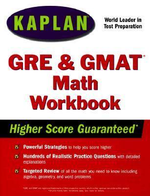 Kaplan GRE/GMAT Math Workbook - Kaplan Educational Centers - Hardcover
