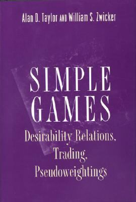Simple Games Desirability Relations, Trading, Pseudoweightings