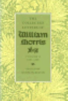 William Morris; Collected Letters 1848-1880, Vol. 1