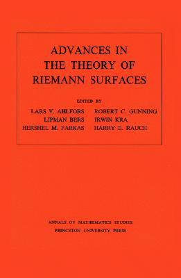 Advances in the Theory of Riemann Surfaces