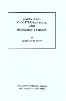 Gauss Sums, Kloosterman Sums, and Monodromy Groups