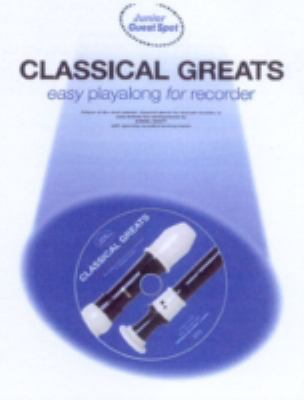 Classical Greats: Easy Playalong for Recorder with CD (Audio)