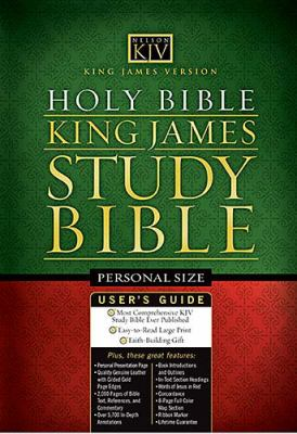 King James Version Study Bible Personal Size