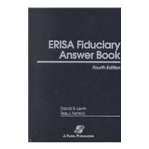 ERISA Fiduciary Answer Book
