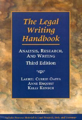 Legal Writing Handbook Analysis, Research, and Writing