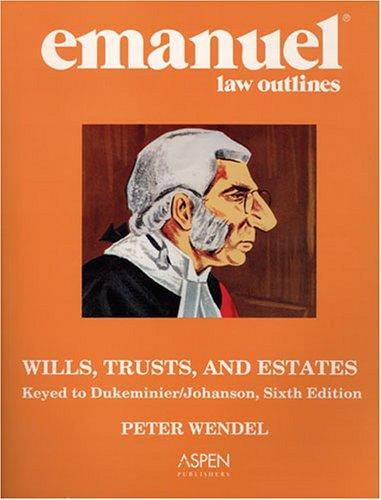trusts and estates outline