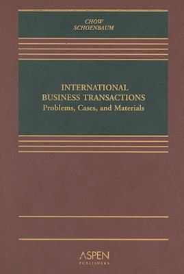 International Business Transactions Problems, Cases, And Materials