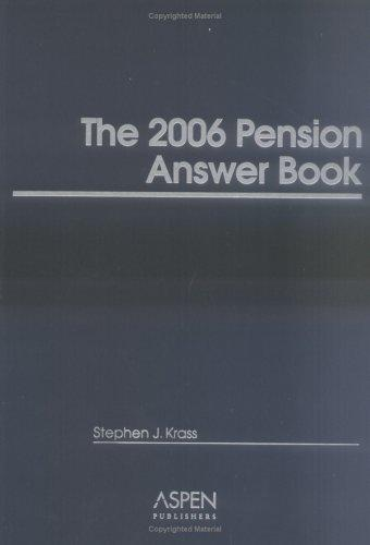 The 2006 Pension Answer Book (Pension Answer Book)
