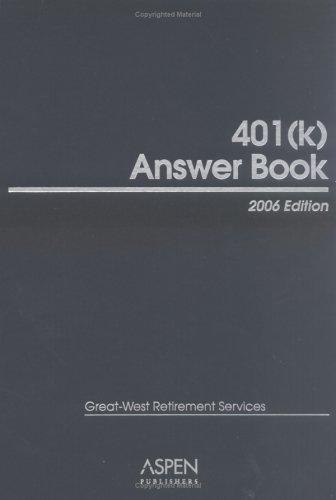 401(k) Answer Book 2006