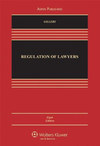The Regulation of Lawyers