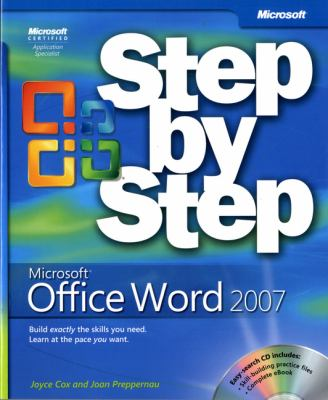 Microsoft Office Word 2007 Step by Step