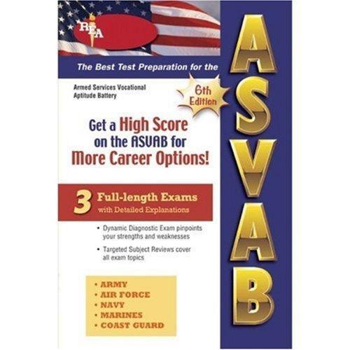 ASVAB (REA)-The Best Test Prep for the ASVAB (Test Preps)
