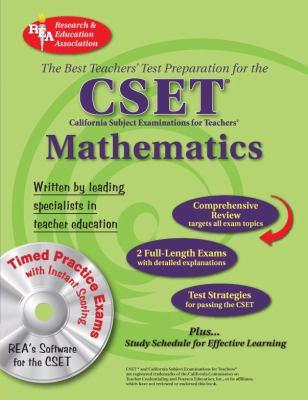 CSET Mathematics W/CD