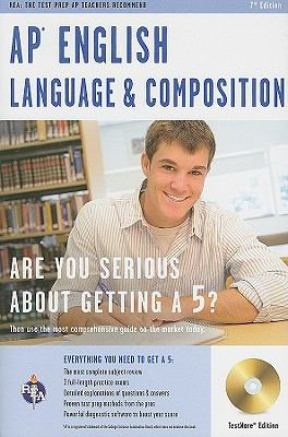 AP English Language and Composition with CD-ROM (REA Test Preps)