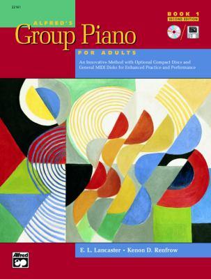 Alfred's Group Piano for Adults Book 1