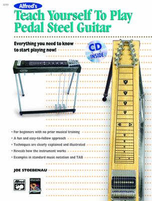 teach yourself to play pedal steel guitar rent 9780739035955 0739035959. Black Bedroom Furniture Sets. Home Design Ideas