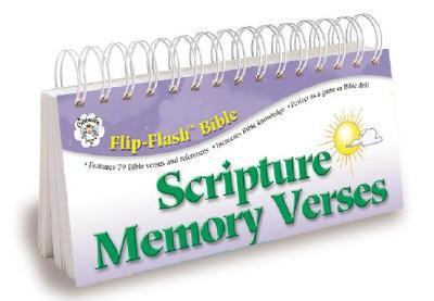 Bible: Scripture Memory Verses Flip-Flash (Flip-Flash Bible)