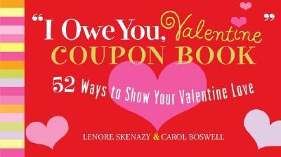 I Owe You, Valentine Coupon Book