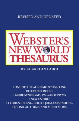 Webster's New World Thesaurus