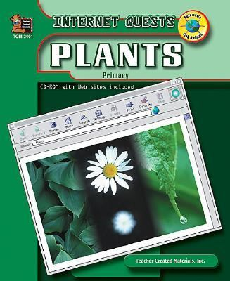 Internet Quests: Plants - Jane Bourke - Paperback