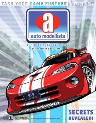 Auto Modellista Official Strategy Guide