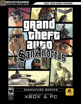 Grand Theft Auto San Andreas Exclusively Covers XBOX & PC