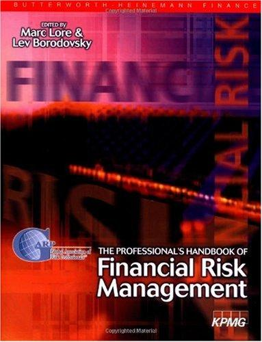 financial risk management handbook pdf