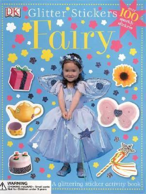 Glitter Stickers Fairy
