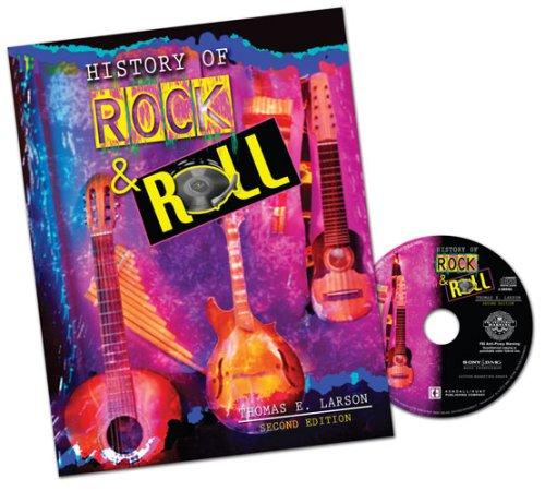 HISTORY OF ROCK AND ROLL WITH MUSIC CD