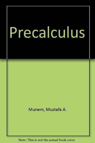 PRECALCULUS W/O CD